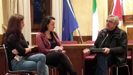 Le ragazze della VCP, Francesca Biancucci e Armela Kenga, intervistano Maurizio Masini
